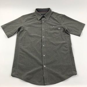 Marmot S/S micro perforated Button Shirt Small